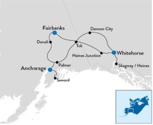 fly-en-drive Alaska en Yukon