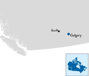 Skivakantie Banff