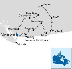 Fly-en-drive reis in West-Canada
