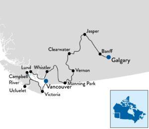 Vakantie naar West Canada