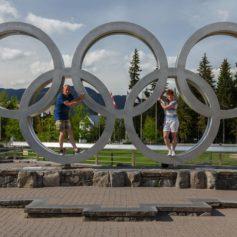 Olympische ringen, Whistler