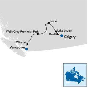 Autorondreis Canada