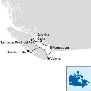 Familiereis door West-Canada