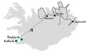 Noord IJsland reis