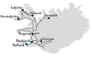 ijsland westfjorden