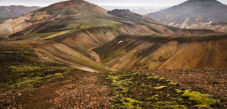 Laugavegur, wandeltocht IJsland