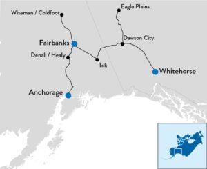rondreis door Noord-Alaska