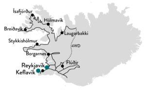 vakantie naar noordwest-ijsland