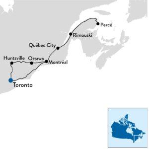 Autoreis Oost-Canada