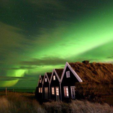 Noorderlicht bij Alftanes Foto: Fred Schalk