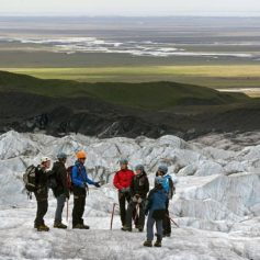 Gletsjerwandeling, IJsland