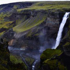 Háifoss waterval