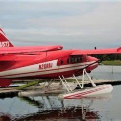 Watervliegtuig verkeer Alaska