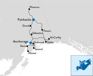 fly-en-drive rondreis door Alaska