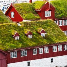 Tórshavn, hoofdstad Faeröer eilanden