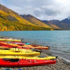 Kajaks, Alaska
