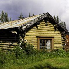 Houthakkershut, Alaska