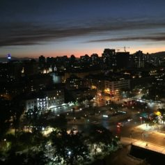 Santiago 's nachts, rondreis naar Patagonië