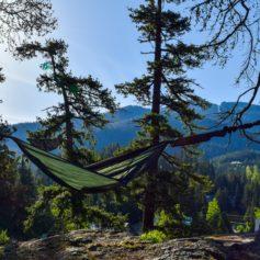 Hangmat in de wildernis, Whistler