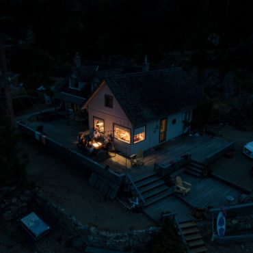 Cabin, Little Shuswap Lake, Canada